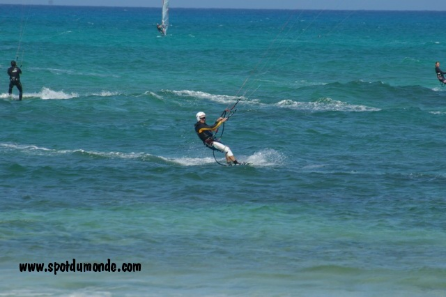 Windsurf Kitesurf Corralejo Flag Beach Canaries